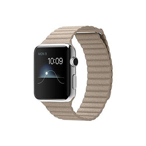 #Sale #Apple Watch Edelstahl Smartwatch   #Groesse  42 #mm Gehaeuse  Armband #Leder    ...  Tagespreisabfrage /Apple Watch Edelstahl Smartwatch , #Groesse :42 #mm Gehaeuse, Armband:Leder  #mit Schlaufe, Armbandfarbe:Stone #Loop  L (160-180mm)  Tagespreisabfrage   Verfolge #und teile #deine Aktivitaet. #Die Ringe ,,#Stehen, ,,Bewegen #und ,,Trainieren zeigen #dir, #wie #aktiv #du #jeden #Tag #bist  #und motivieren #dich #zu #etwas #mehr #Bewegung. Sieh #dir #an, #ob http://saa