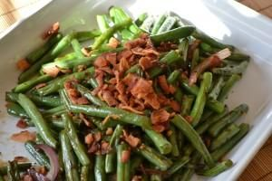 Ohana Green Beans Recipe served at Ohana in Polynesian Resort at Disney World
