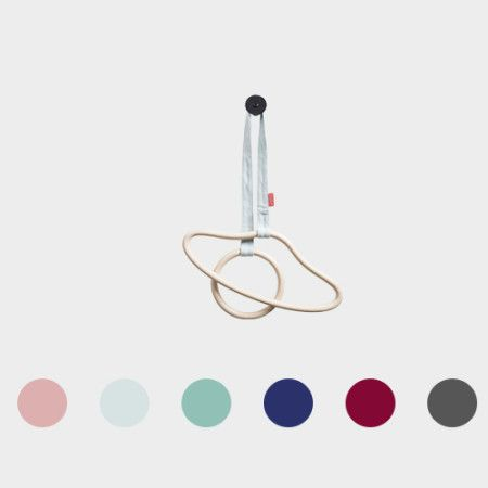 Hanger's String from PYTT Living available in six colors.