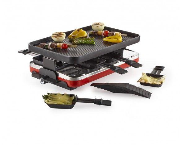 Raclette rectangulaire Lucerne, 8 personnes, 1400 volts - Raclettes - Les réceptions   Stokes Inc. Canada's Kitchen Store