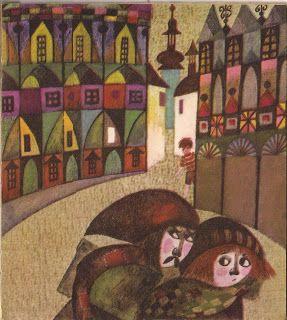 Illustration: Danuta Imielska-Gebethner Author: Barbara Eysymont Title: Travels with a bird Issued: 'Office Publishing Movement', Warsaw, Poland, 1970. Issue I.