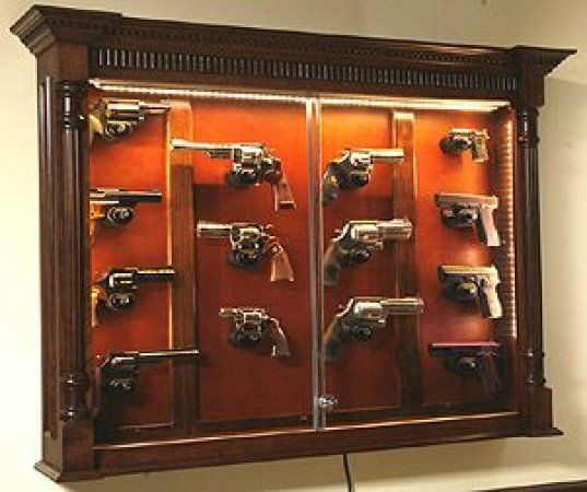 Best 25+ Gun cabinets ideas on Pinterest | Gun safe diy, Gun ...