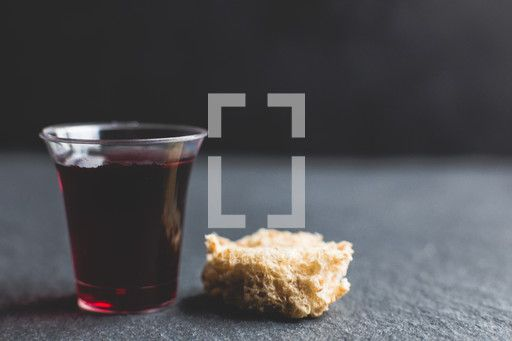 communion wine cup and bread . Purchase this and thousands ...