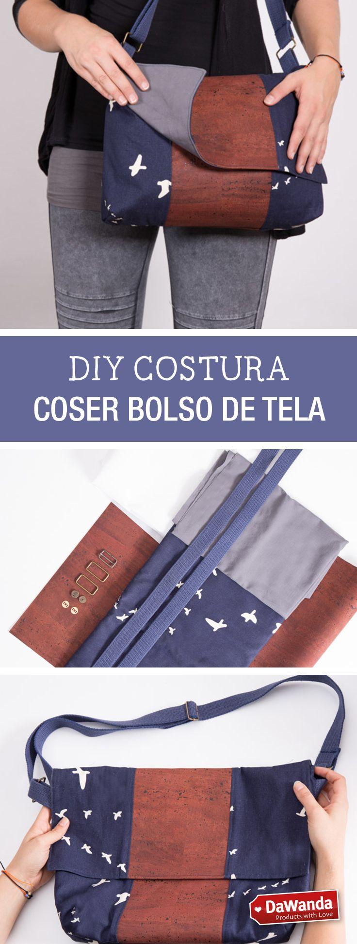 Tutorial DIY - CÓMO HACER UNA CARTERA CON DETALLES DE CORCHO en DaWanda.es