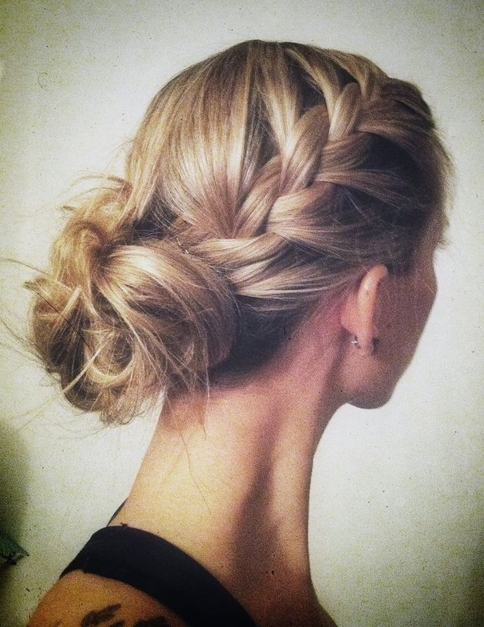 1000 Images About Bridesmaids Hair Styles On Pinterest