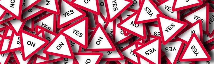 Free illustration: Banner, Yes, No, Decision, Choice - Free Image on Pixabay - 1183407