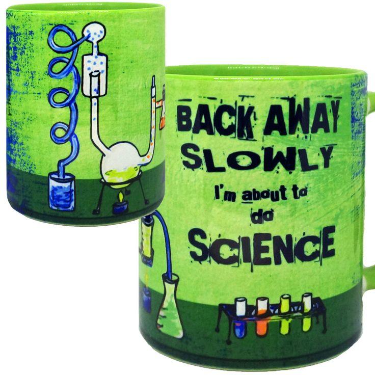 Chemistry Lab Science Funny Green Mug