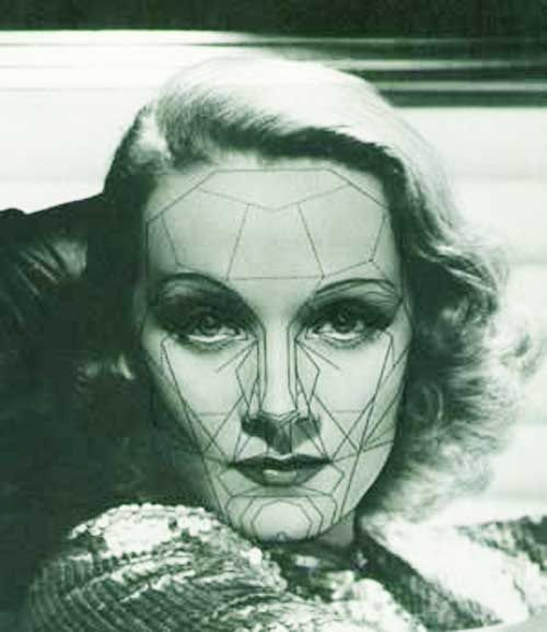 80 best facial symmetry images on pinterest the golden golden 1936 marlene dietrich most beautiful faces ccuart Image collections