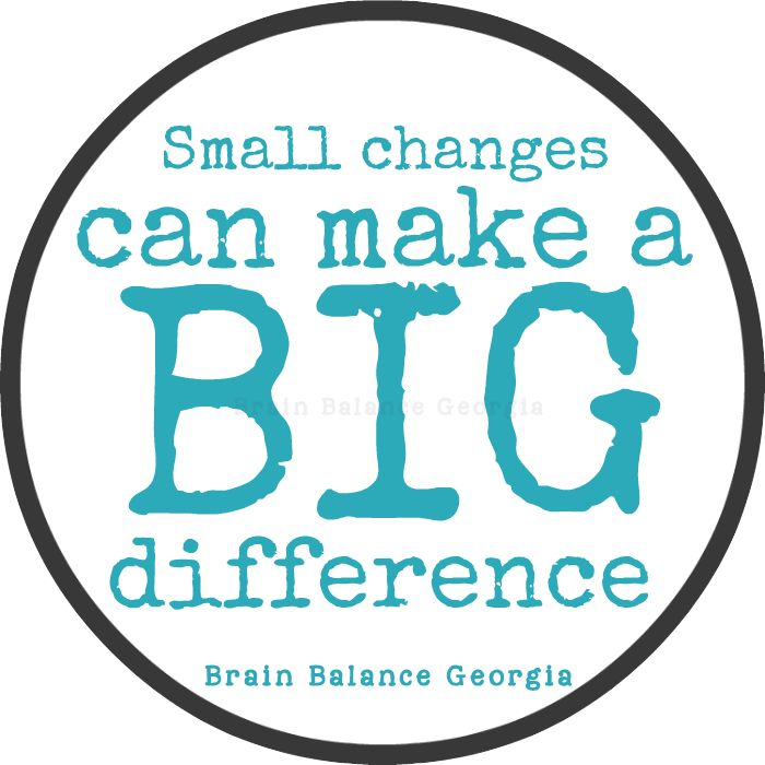 Small Changes Can Make A Big Difference. #wordsofwisdom