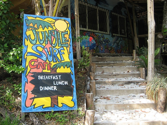 The Jungle Surf Cafe, Playa Hermosa, Costa Rica