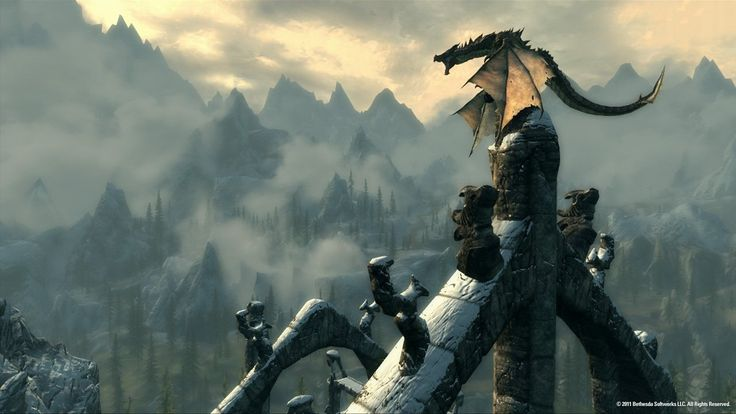 Skyrim DLCs Dated for PS3