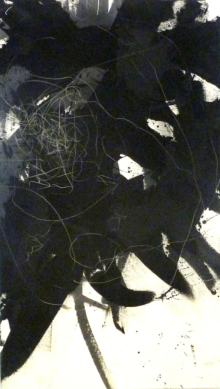 "Kelly Rogers mark paintings. 30"" x 52"" i Comox Two Series. kellyrogers.ca"