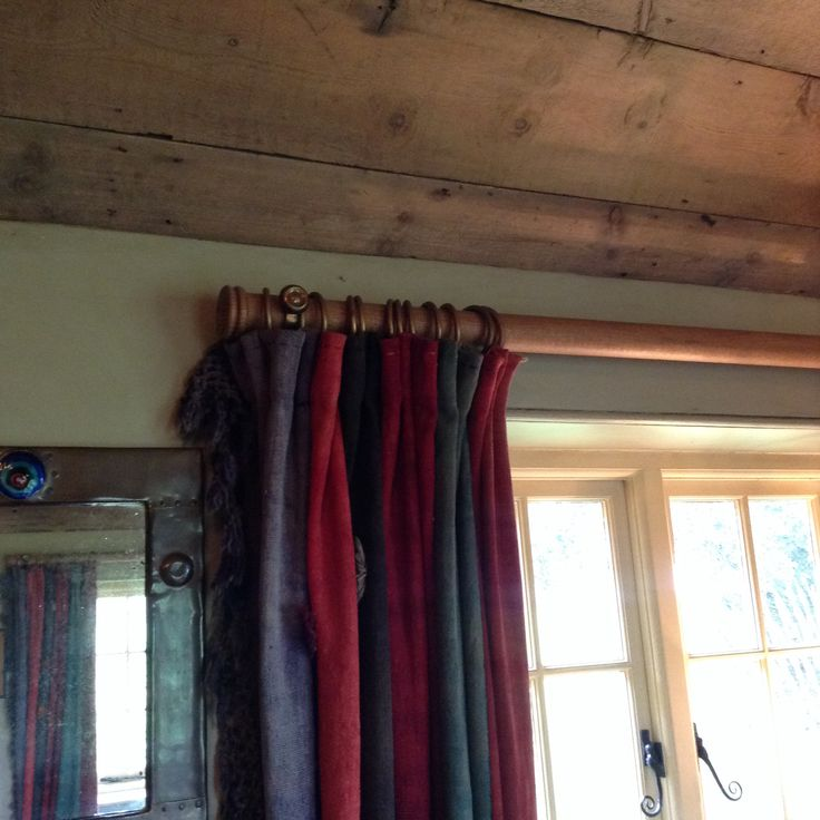 Curtain Detail In The Dining Room At The Gunton Arms, Norfolk