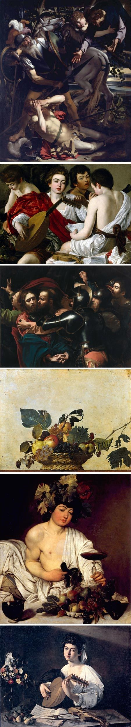 lines and colors :: a blog about drawing, painting, illustration, comics, concept art and other visual arts » Caravaggio in Rome