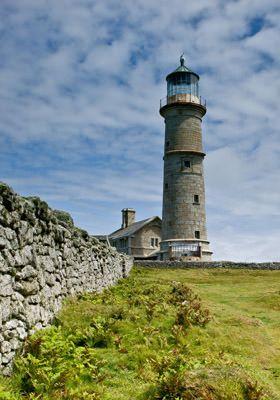 Lundy Island Lighthouse, UK