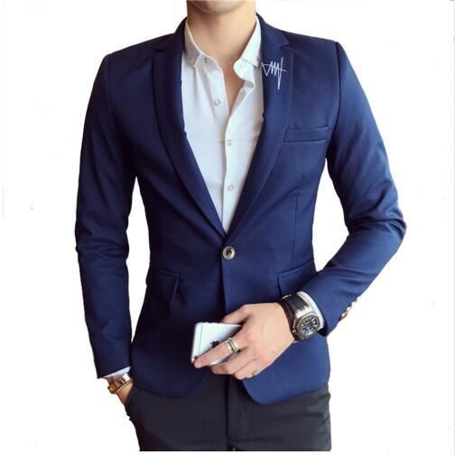 New England Men Business blazer designs Wedding Coat Single Breasted Luxury jacket