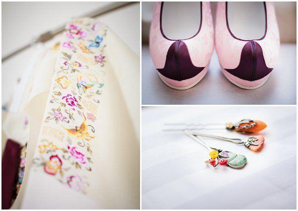 Korean wedding dress | Photography © BlueCicada via French Wedding Style