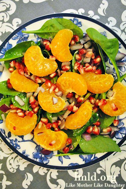 Pomegranate citrus salad. #lmldfood #healthy #salad