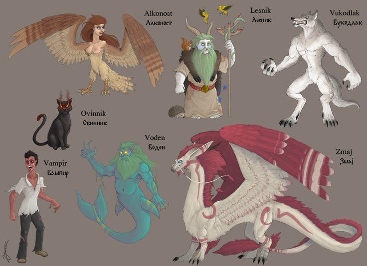 Magical creatures 3 by DuszanB.deviantart.com on @DeviantArt