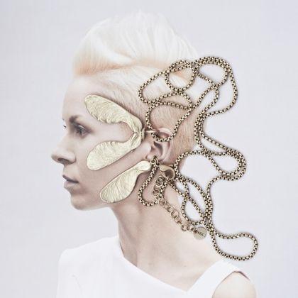 Necklace from LOVE collection.  Photo: Przemek Dzienis http://orska.pl/pl/shop/naszyjnik650.html