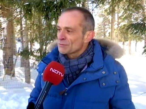"""Jean-Pascal Tricoire on Twitter: """"@SchneiderElec has trained 50K people India to help solve the energy problem. Watch my @ndtv Interview: https://t.co/6YAJS8M0ic #WEF17 @wef"""""""