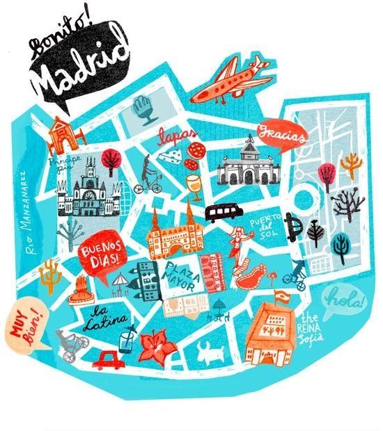 How to visit #Madrid - Bonito Madrid! #Spain #tourism #visit