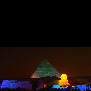 The Pyramids at Giza  Sept 2009