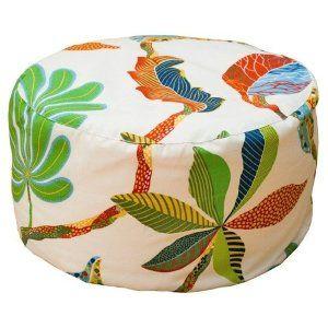 Круглый пуфик Blue Bird «Каштановые листья»