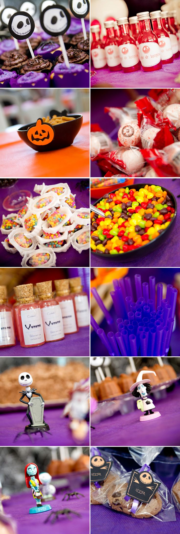 #kidsparty #party #candy #bday #birthday #nightmare before christmas