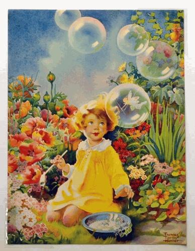 Frances Tipton Hunter (American illustrator, 1896-1957)- 1920s Calendar Art
