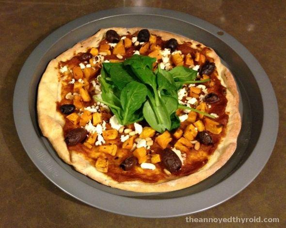Pumpkin, Feta and Pine Nut Pizza - pizzalicious!