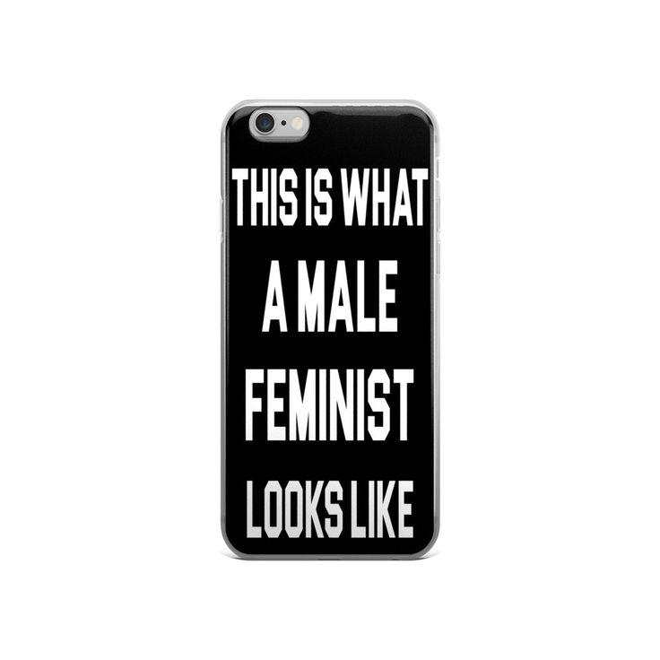 Male Feminist iPhone 5/5s/Se, 6/6s, 6/6s Plus Case