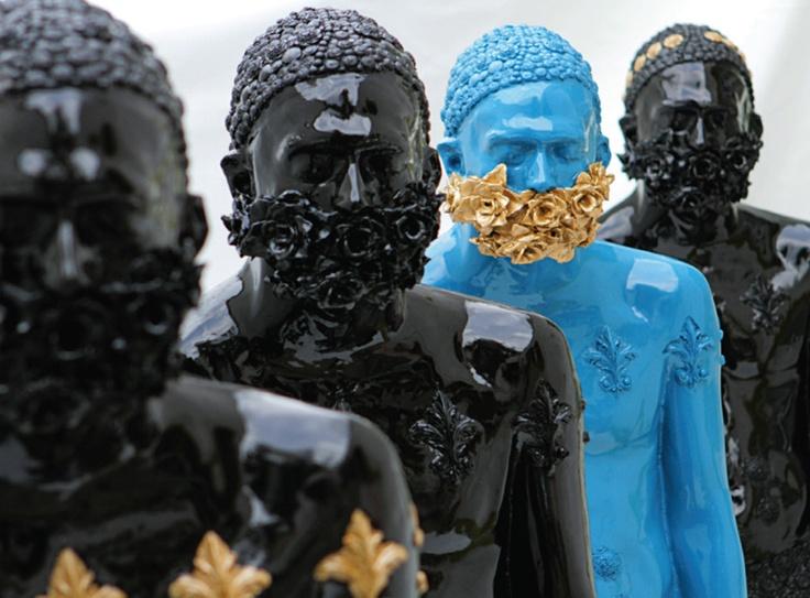 Esculturas de la muestra 'Bida' - Alejandra Zermeño