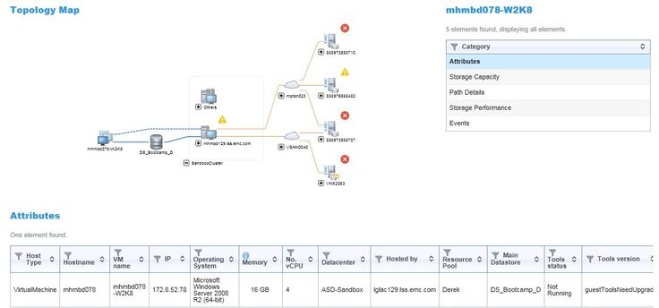 ViPR SRM Explore Reports and Topology Maps http://1cr.it/1Ku