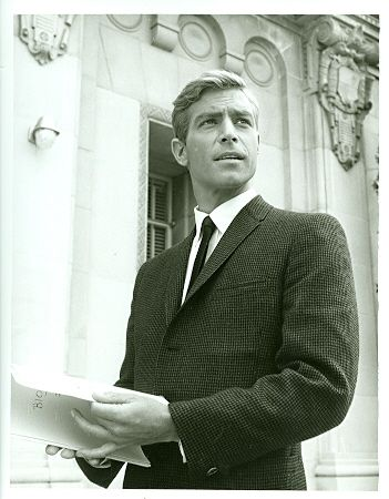 James Franciscus Outside School - Mr Novak 1963 NBC TV