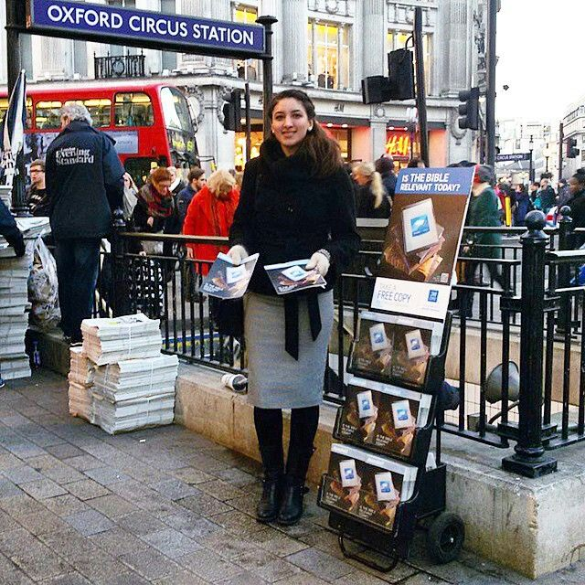 Public Witnessing in London, UK | 'Kingdom Come On Earth As In