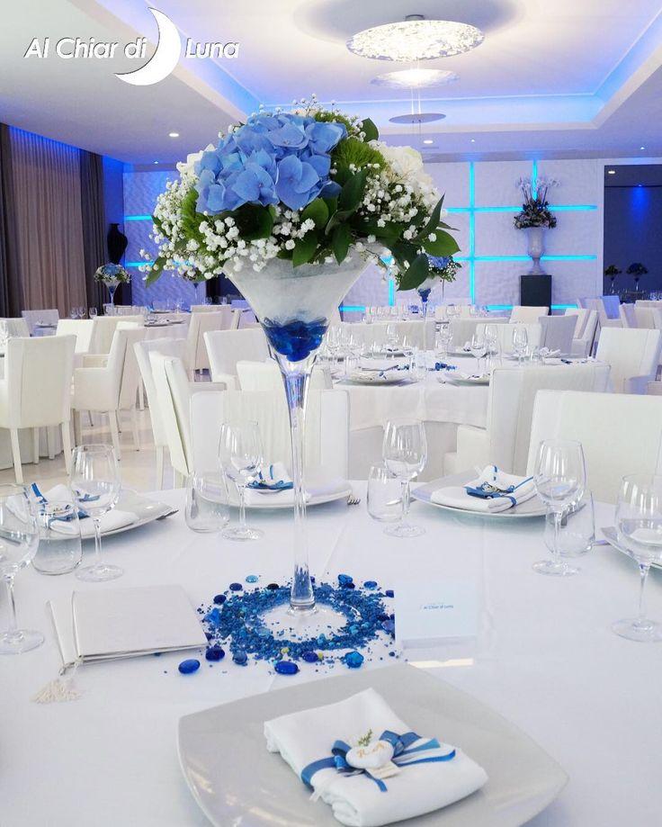 Bianco e blu: delicatezza ed eleganza, la scelta dei nostri sposi oggi…