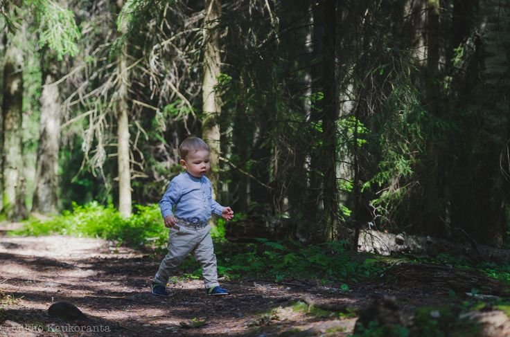 A Boy In The Woods by Mikko K on 500px