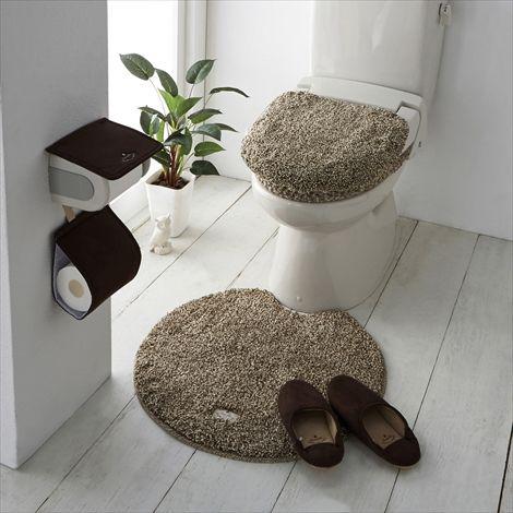 ふかふかふわふわトイレタリーシリーズ 通販 【ニッセン】 トイレ用品 トイレマット