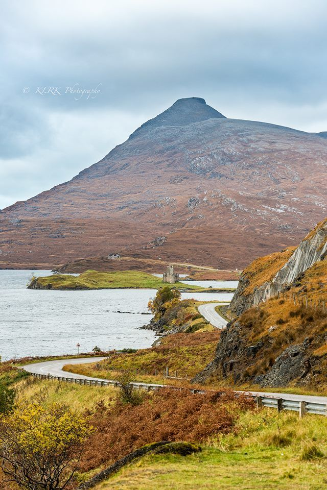 Road to Ardvreck Castle, Sutherland