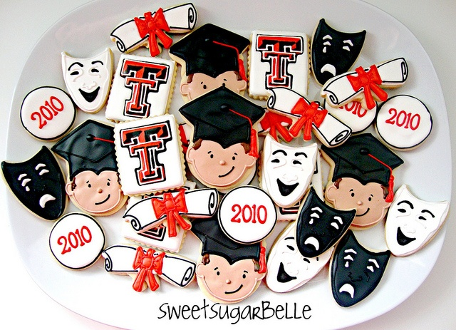 graduation cookies - Sugarbelle