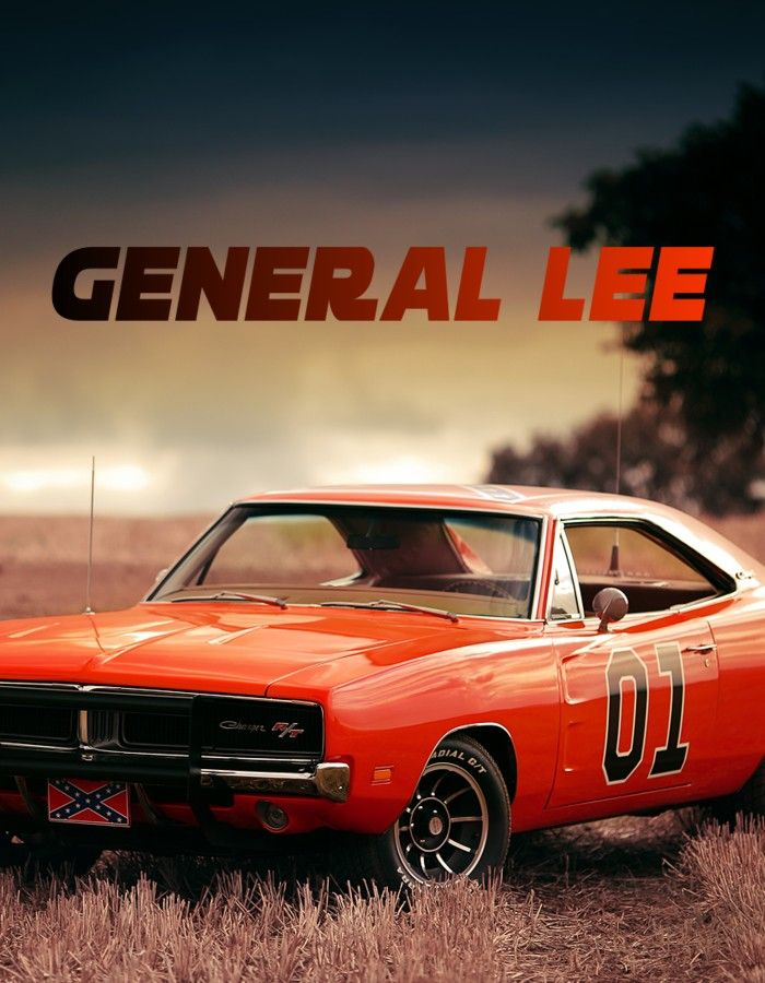 Monumental Robert E Lee Dodge Charger General Lee American Muscle Cars