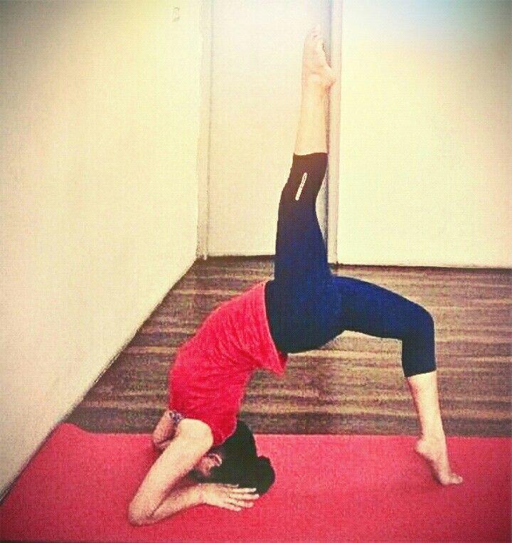 Yoga posture..