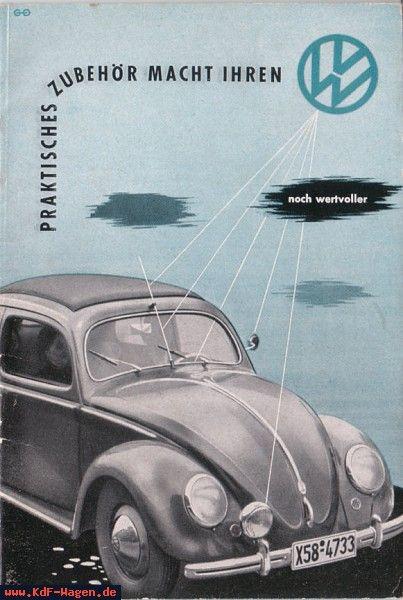 VW - 1952 - prakisches Zubehör macht Ihren VW noch wertvoller - [4997]-1