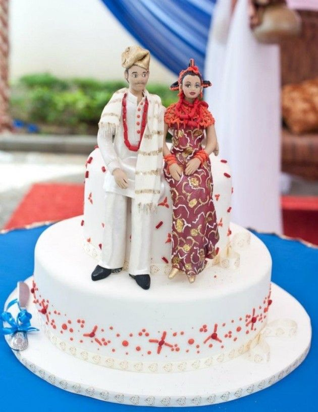 Nigerian+Traditional+Wedding | Random Pictures of Nigerian Traditional Wedding Cakes!