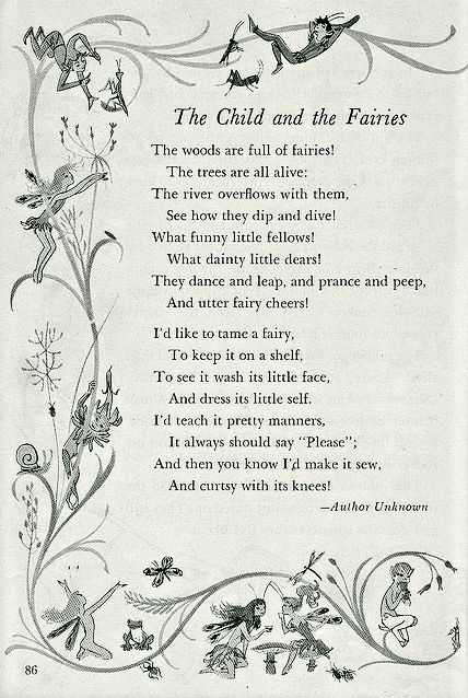 dance poems and quotes | Fairy Quotes and Poems - About A Mom