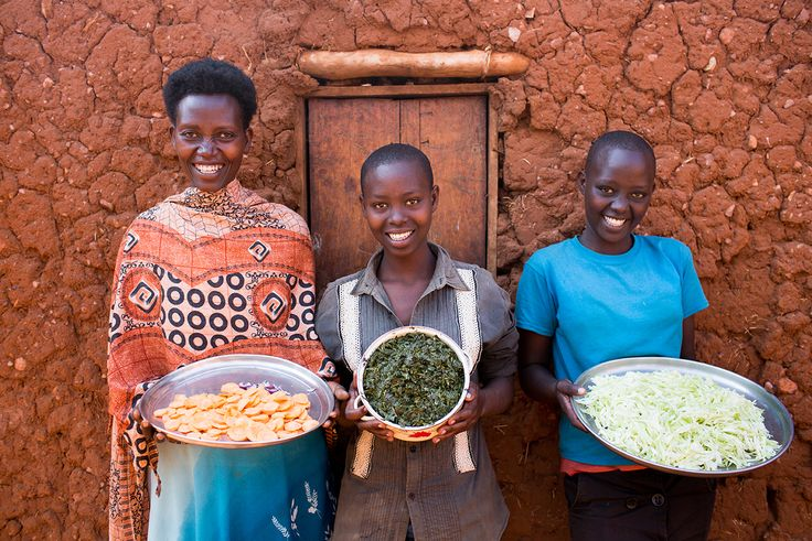 Some yummy, natural food from #Rwanda (Photo credit: Esther Havens)