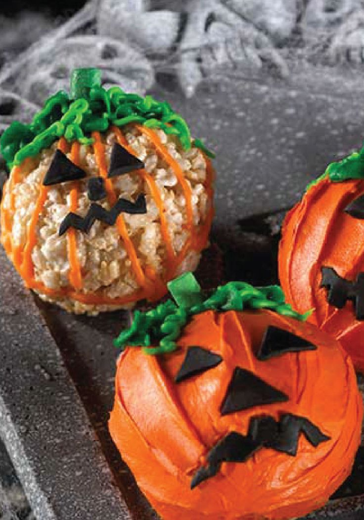rice krispies snack o lantern treats give your jack o