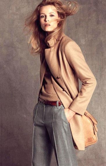 Купить женские серые брюки классика
