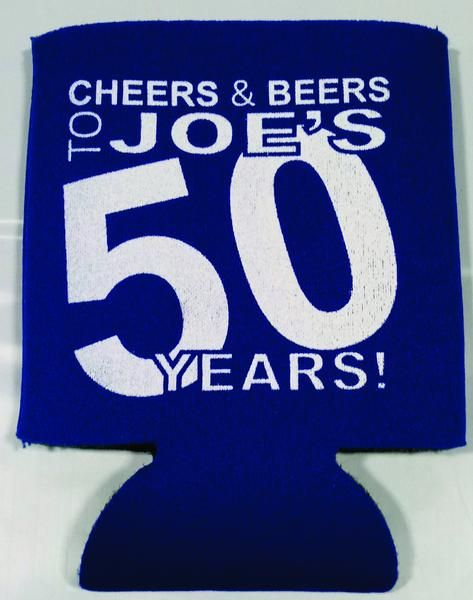 Cheers and Beers 50th Birthday Koozies favors can coolers 1118526080